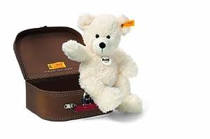 Steiff Lotte Teddy Bear In Suitcase - White by Steiff