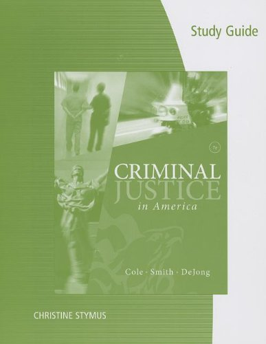 criminal justice study guide 1 The bachelor of science in criminology and criminal justice is offered in person (downtown phoenix, havasu  at the end of a student's course of study.