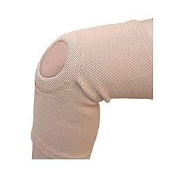 IndoSurgicals Tubular Knee Support with Center Hole (Large)