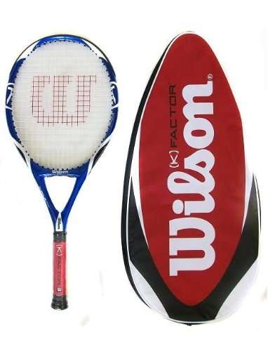 Wilson [K] Factor K Four FX Tennis Racket RRP £190 Grip L3