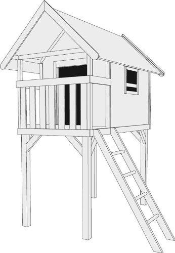 karibu stelzenhaus gernegro preisvergleich spielhaus. Black Bedroom Furniture Sets. Home Design Ideas