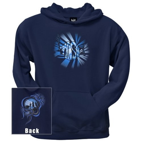 Old Glory Mens Phish - Octopussy Pullover Hoodie - 2X-Large Dark Blue
