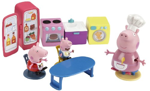 Character Options Peppa Pig Kitchen Playset