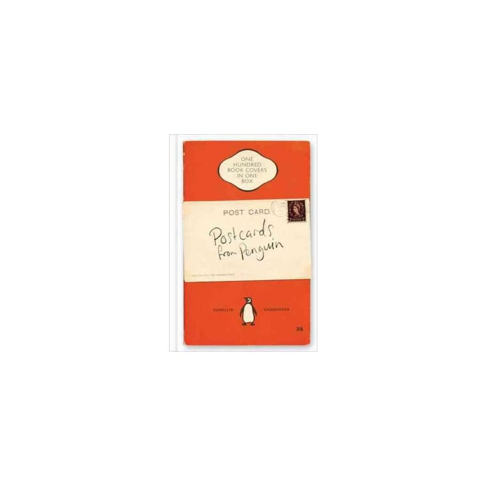 Classic Book Cover Postcards : Postcards from penguin one hundred book covers in box