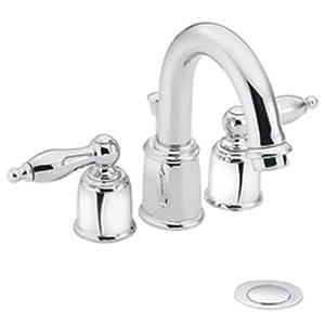 Moen Castleby Chrome Minispread Lavatory Faucet Touch On