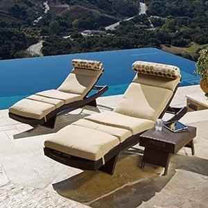 Amazon Portofino Signature 3 piece Lounge Set with
