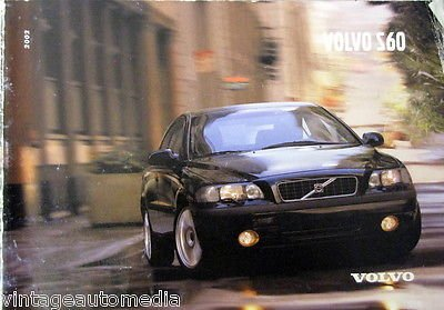 2002 Volvo S60 Owner's Kit (Volvo S60 Owners Manual compare prices)