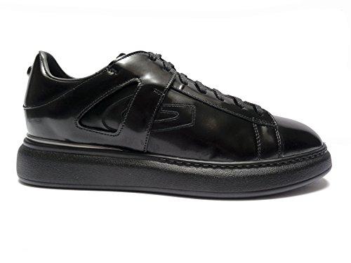 Alberto Guardiani -Guardiani Sport- scarpe casual da uomo in pelle Nero, n. 45