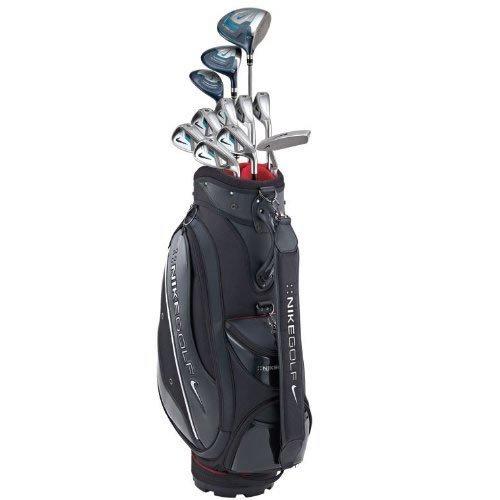 NIKEGOLF(ナイキゴルフ) 2013モデル SLINGSHOT オールインワンセット Slingshot スチール シャフト 11本セット (W#1.3.U#4.I#5-PW.SW.パター) クラブバッグ 日本仕様