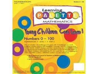 Learning Palette Mathematics: Numeration, Numbers 1-100 (Level 1, Step 2) - 1