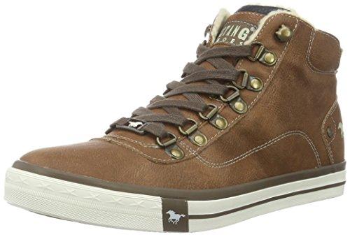 mustang-herren-4103-601-hohe-sneakers-braun-301-kastanie-43-eu