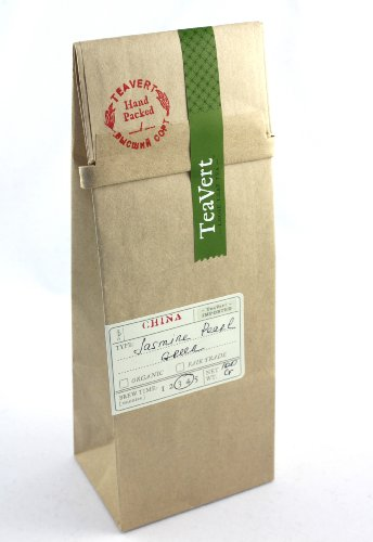 Jasmine Pearl, Loose Leaf Green Tea 100g Bag Image