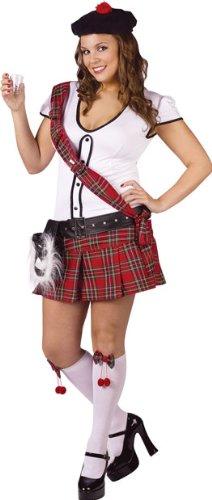 Scottie Hottie Kilt Plus Size Costume