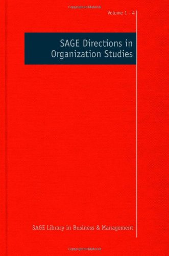 SAGE Directions in Organization Studies (SAGE Library in Business and Management)