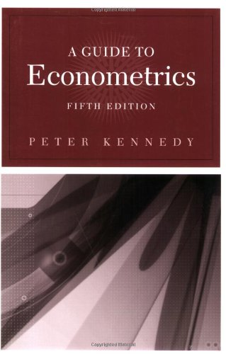 A Guide to Econometrics, 5th Edition