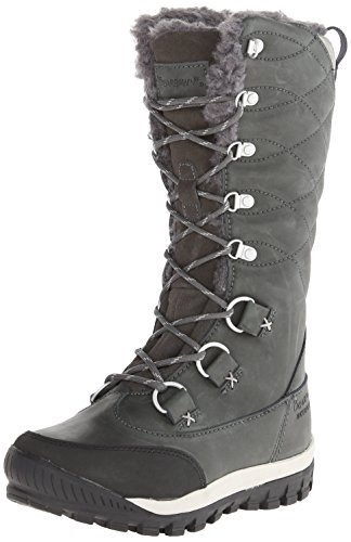 BEARPAW Women's Isabella Winter Boot, Charcoal, 9 M US