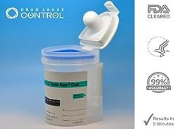 15 Pack of 10-Panel EZ Cup II Drug Testing Kit(COC+AMP+BAR+TCH+OPI+BZD+MDMA+MET+MTD+PCP)