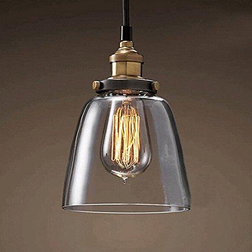 Fuloon-Lampada-da-soffitto-stile-retr-in-vetro