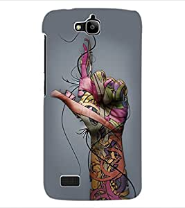 ColourCraft Creative Design Back Case Cover for HUAWEI HONOR HOLLY