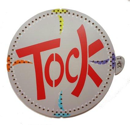 """JEU DE TOCK EN BOIS 4 JOUEURS """" LETTRES """""""