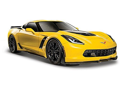 2015 Chevrolet Corvette C7 Z06 Yellow 1/24 by Maisto 31133 (Chevrolet Corvette Model compare prices)
