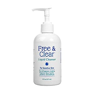 Free & obvious fluid Cleanser, For delicate pores and skin 8 fl oz (237 ml)