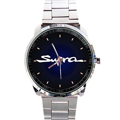 Paper Priinted Wrist Watches XWDS385 New Limited Edition Toyota Supra Sport Car Emblem Logo Sport Metal Watch (Japanese Toyota Emblem compare prices)