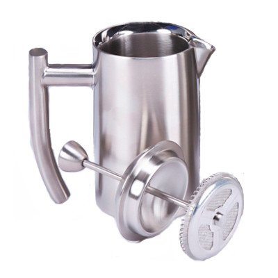 Favor Frieling Ultimo 44 Oz French Press Brushed Finish dispense