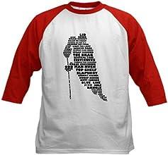 CafePress Kids Baseball Jersey - Language of Hockey skater Kids Baseball Jersey