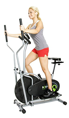 Best Review Of Body Rider Body Rider BRD2000 Elliptical Dual Trainer with Seat