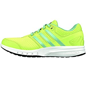Adidas Performance Women's Galaxy Elite W Running Shoe (5.5 B(M) US, Frozen Yellow/Frozen Green/White)
