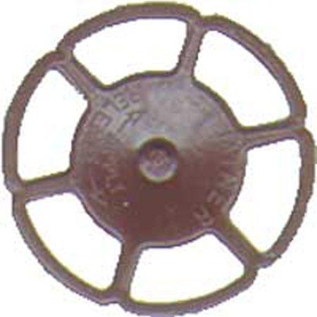 HO Brake Wheel, Miner/Boxcar Red (8)