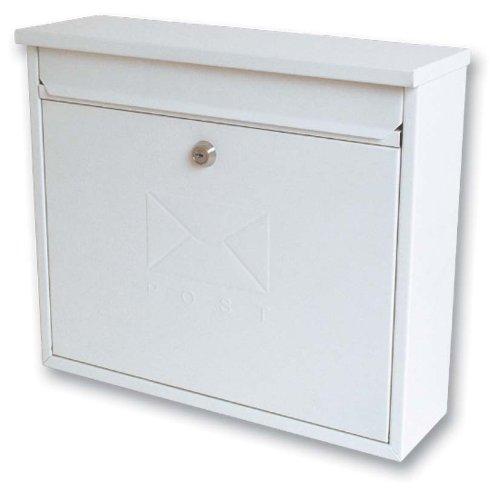 Sterling MB02 Elegance Post Box - White