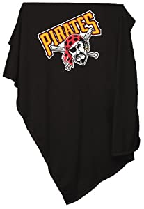 MLB Pittsburgh Pirates Sweatshirt Tackle Twill Blanket by Logo