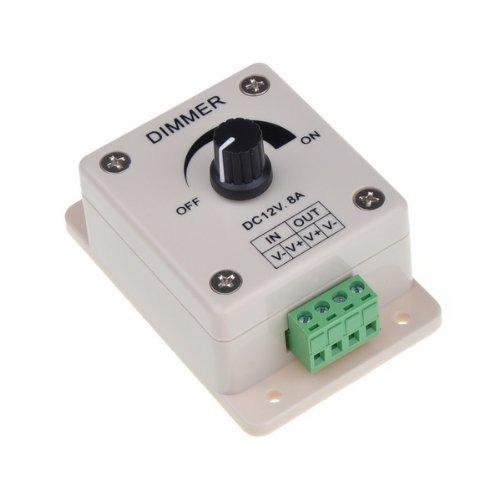 12V 8A Led Light Dimmer Brightness Adjustable Bright Controller