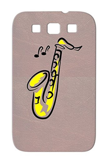 Tpu Shatterproof Music Music Stage Recording Studio Jazz Saxophone Reop Sound Engineering Microphone Yellow For Sumsang Galaxy S3 Cover Case