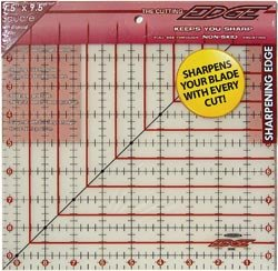 Sullivans The Cutting EDGE Frosted Ruler-9-1/2