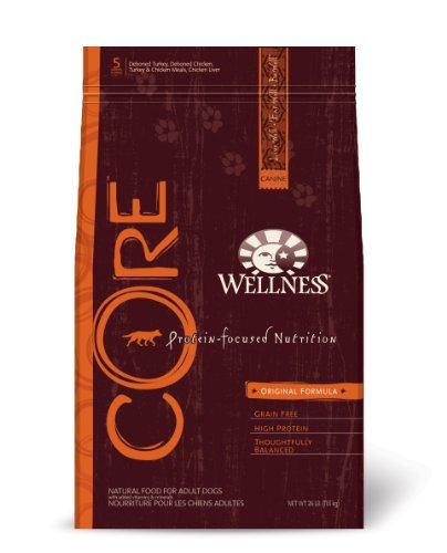 Wellness CORE Grain-free Dry Dog Food, Original Recipe, 26-Pound Bag