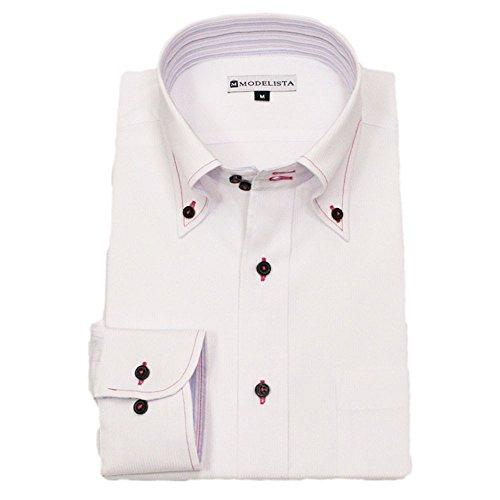 (ブルーム)BLOOM オリジナルワイシャツ Y4 S お洒落 ピンクステッチ