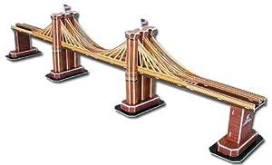 Daron Brooklyn Bridge 3D Puzzle, 64-Piece