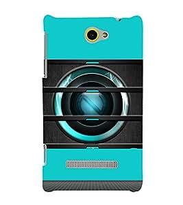 EPICCASE Spy Camera Mobile Back Case Cover For HTC Windows Phone 8S (Designer Case)