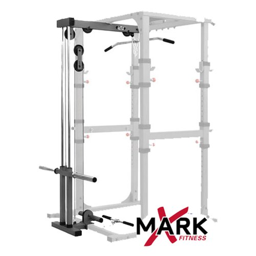 XMark Commercial Power Cage Lat Pulldown And Low Row Attachment XM 7621 For XM 7620 $336.91