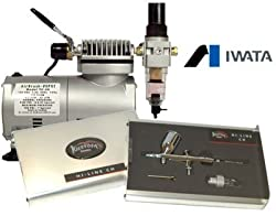 IWATA Kustom 9100 Airbrush Kit w/Mini Compressor