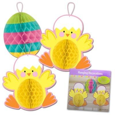 dec honeycomb chick & egg