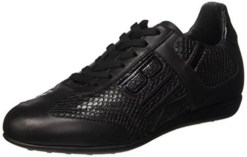 Bikkembergs R-Evolution 882 L.Shoe W Leather Scarpe Low-Top, Donna, Nero (Black/Python Print), 39