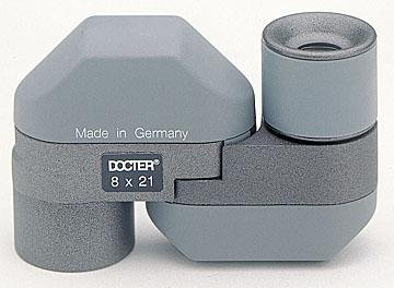 Docter Monocular 8x21 Mono - miniature top optics monocular - gray - DO50328