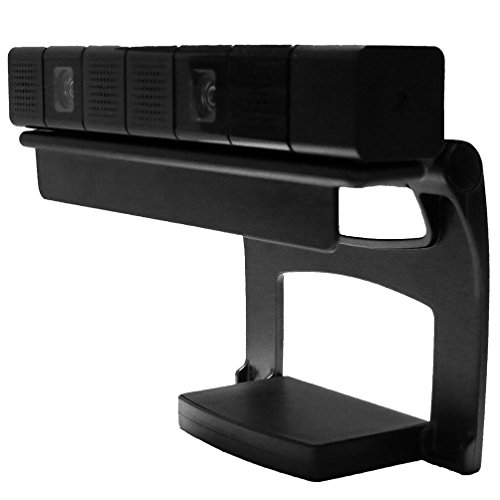 Playstation-4-Camera-Mount-By-Foamy-Lizard--Sturdy-Ps4-Camera-Tv-Mounting-Clip-Stand-for-Playstation-4-Console-Sensor
