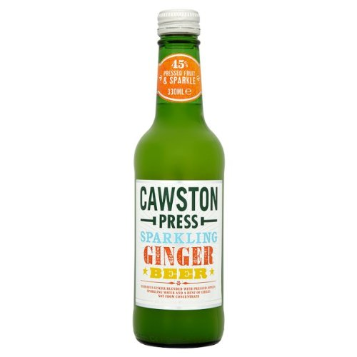 Cawston Press Sparkling Ginger Beer 6x330ml