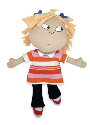 "8"" Soft Lola Doll (Charlie and Lola Licensed Toy)"