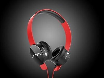 SOL REPUBLIC Tracks V8 On-Ear Headphones Red or Black